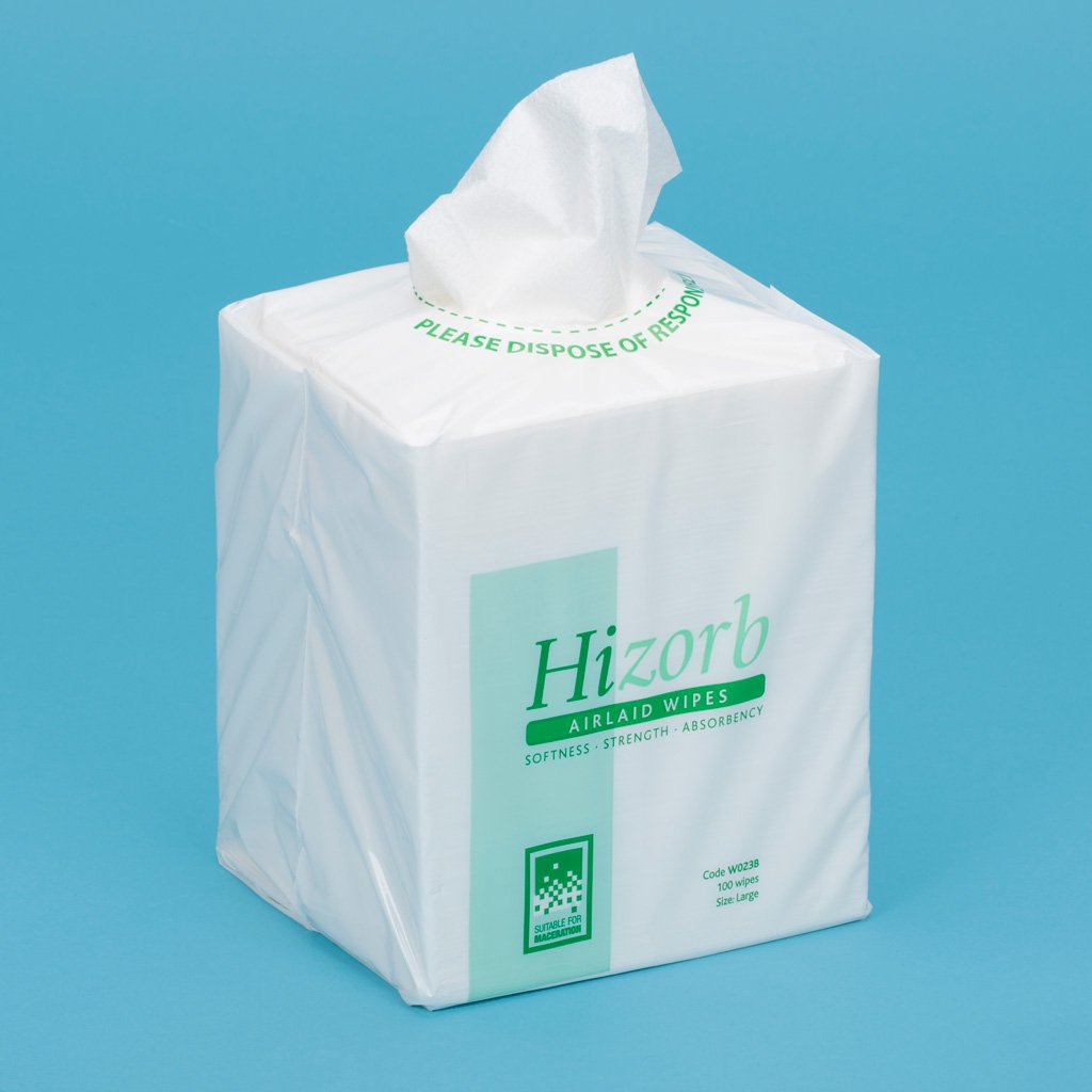 Hizorb Airlaid Wipes