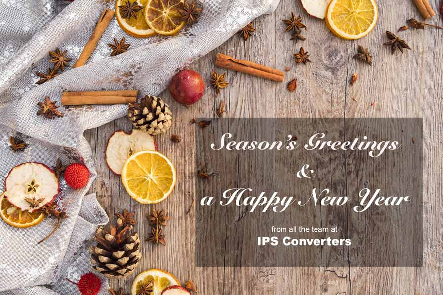 Season's Greetings and a Happy New Year from IPS Converters